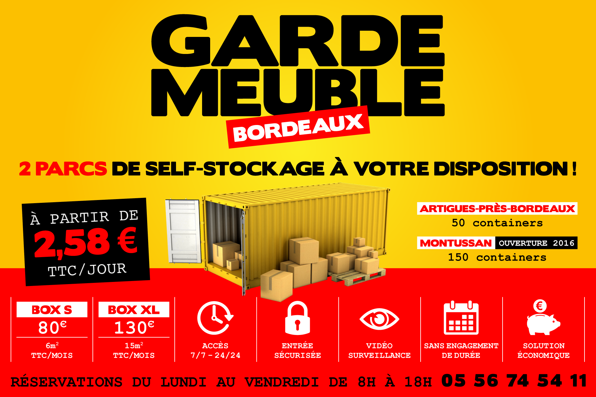 Garde meuble bordeaux box de stockage louer - Location meuble au mois bordeaux ...